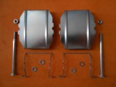CITROEN BX, CITROEN XANTIA, CITROEN XM REAR BRAKE PAD FITTING KIT -BFK617